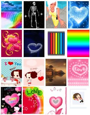 Imagens dos papéis de parede para celular