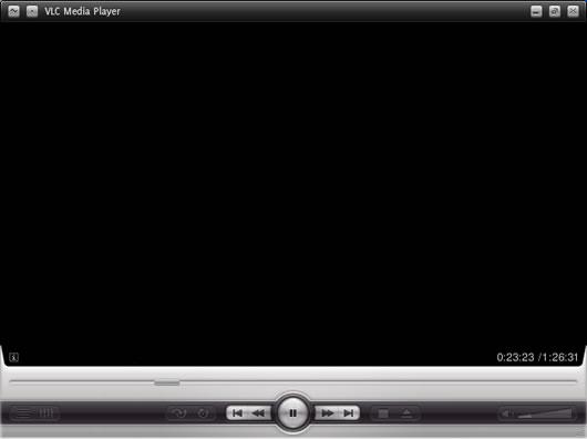 VLC com skin